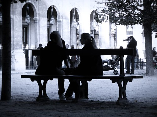 au Jardin du Palais Royal