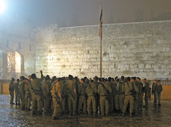 Jerusalem - Soldiers in Western Wall Plaza (*Checco*) Tags: santa plaza city people muro fog wall square soldier temple israel peace god stones flag military jerusalem religion middleeast synagogue holy western dio jewish pace jews piazza judaism pilgrimage occidentale holyland oldcity idf citt judea westernwall wailingwall israele gerusalemme bandiera tempio kotel holycity militari religione cittvecchia terrasanta mediooriente sinagoga pellegrinaggio ebrei soldati israeldefenseforces ebraismo cittsanta giudea murooccidentale