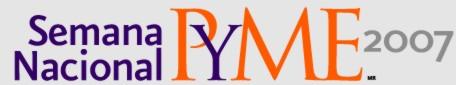 logotipo del evento.