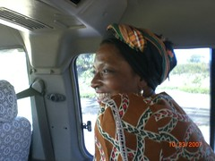 Jennifer in the matatu
