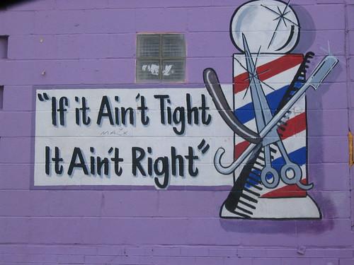 Tight = right