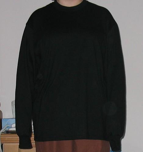 New shirt - before
