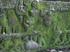 Churning of the Sea of Milk (krismo_pompas) Tags: old temple cambodia angkor basrelief bengmealea cambodia2007