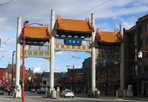 Chinatown in Vancouver (credit Leah Shafer)