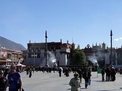 Barkhor Square, Lhasa, Tibet