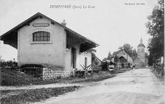 La gare de Dompierre-sur-Mont (Orgelet)