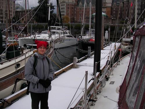 Snowy Docks