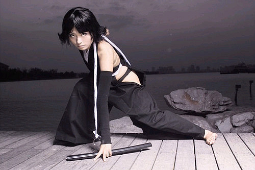 Bleach Soi Fong Foto Cosplay