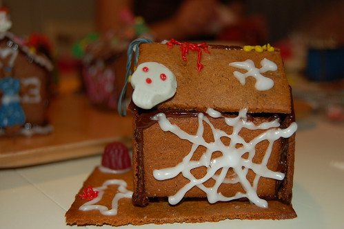 Mikael's haunted gingerbread house