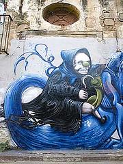 graf3304 (anavb) Tags: streetart valencia spain n only 2007 comentario escif xlf 0097 pixelpancho otrosvolando rodantpelscarrers comentarioblog