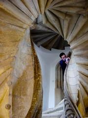 Double-spiral Staircase in Graz, Austria (ToastyKen) Tags: stairs spiral austria stairwell staircase graz doublespiral