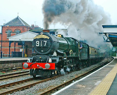 The King at Wellington (geoffspages) Tags: shropshire railway steam uksteam