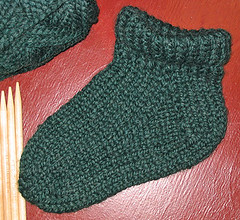 Hand Knit Bulky Sock