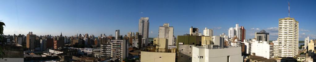 Vista desde el apartamento de Anahi