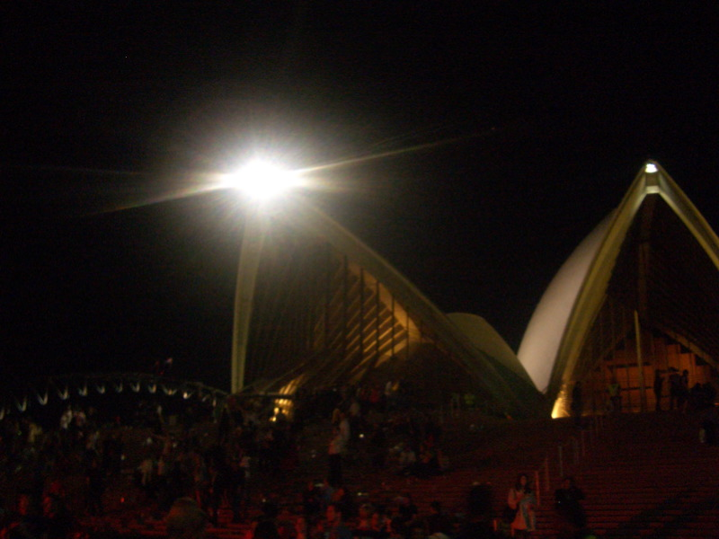 Opera House after Bjork concert