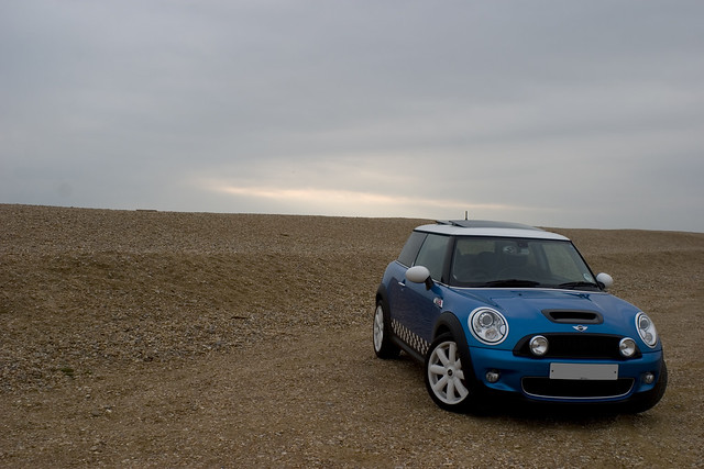 mini coopers minicoopers bmwmini laserblue r56