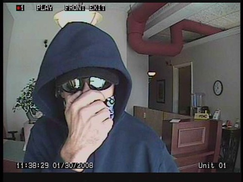 Lakeland Florida Bank Robber