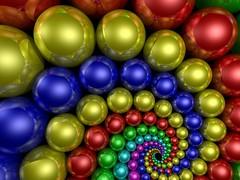 Doyle Spiral (fdecomite) Tags: color spiral geometry doyle povray imagej abigfave artlegacy