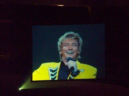 Barry Manilow on the big screen