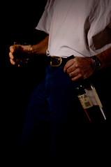 two's company (Kalense Kid) Tags: portrait selfportrait drunk bottle drink whiskey alcohol scotch selfie homestudio cmtwo