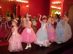 Dancing Princesses (dcbprime) Tags: birthday party dancing princess sweet sassy hokeypokey sweetsassy