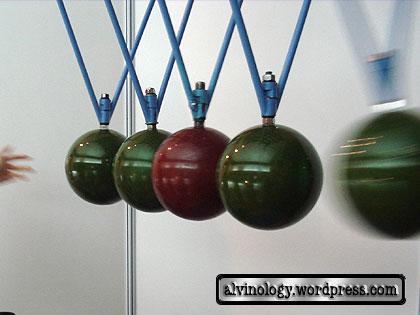 giant pendulum  balls