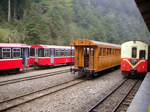 三種不同車廂