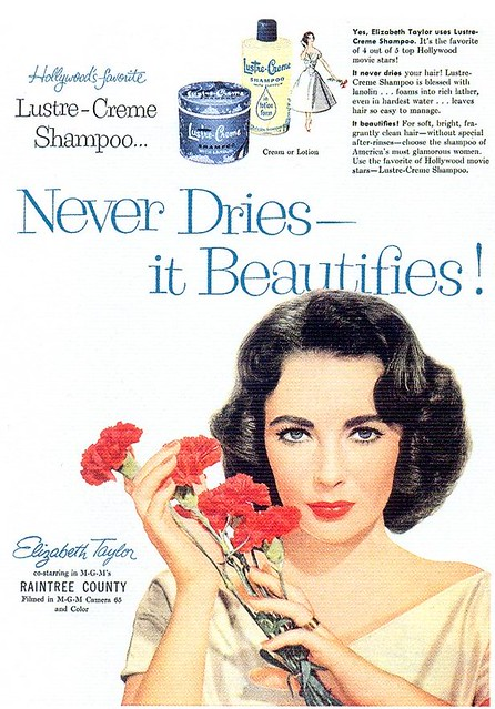 Lustre-Creme Shampoo, 1957