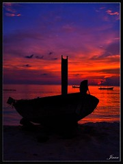 (Prof EuLOGist) Tags: sunset sea colors clouds baa atoll jinan hussain profeulogist thulhadhoo