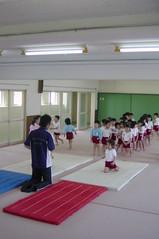 体育教室、開始