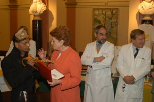 Louis Mariette, Lady Anson, Dr Khamashta & Dr Hughes