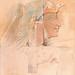 Qheen Ahmose; facsimile by Howard Carter