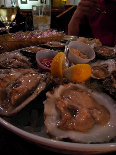 Oysters at Danton's Gulf Coast Seafood Kitchen