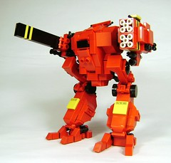 Giant robot chickens will rule the world (DARKspawn) Tags: robot lego space mecha bot mech classicspace