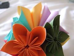 kusudama flower ball close up (shortieb) Tags: flower origami kusudama