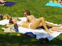 Central Park (Joe Shlabotnik) Tags: nyc newyorkcity centralpark manhattan bikini 2008 sheepmeadow faved may2008