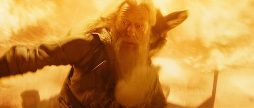 Dumbledore en Harry Potter y el misterio del príncipe