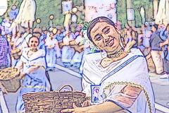 Color Play  _7591 (hkoons) Tags: grandmarianprocession maritimesoutheastasia southeastasia capital catholicism christ christian christianity church intramuros jesus luzon manila philippines saint saints beliefs catholic celebrants celebration community faith festival floats island islands marching occasion parade piety procession religion spirit spirits tropical tropics