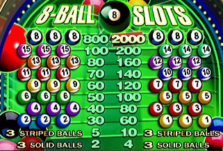 free 8 Ball Slots slot game symbols