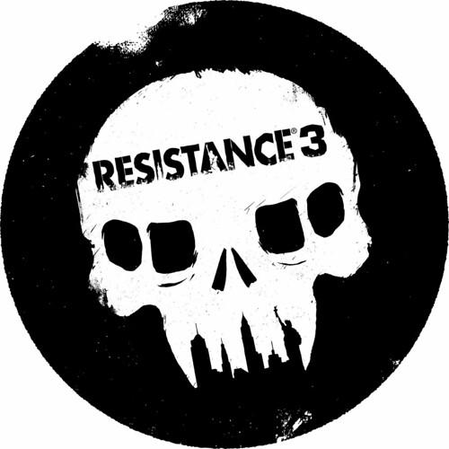 Resistance 3 Stamp Black