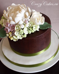 Peony cake (crazycakes.eu ) Tags: birthday flowers cake 40th chocolate peony chocolatecake weddingcakes crazycakes julias40th