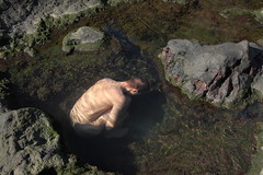 Uterus (Hypnoosi) Tags: boy sleeping cold nature water daylight amazing interesting alone skin artistic body sleep surrealism under dream adventure tenerife lonely meditation unreal moment anonymous emotions surrealistic canaria absurdism gigantes irreal vulcanic toughts