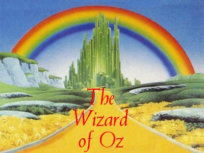 We're off to see the Wizard....