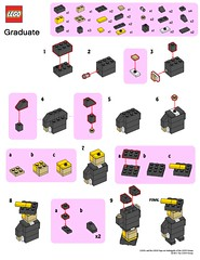 LEGO Store MMMB - June '11 (Graduate) Instructions (TooMuchDew) Tags: holiday june lego legostore june11 legoimaginationcenter diplm absolvent legoinstructions mmmb legoclub toomuchdew monthlyminimodelbuild licmoa minimodellbauevent