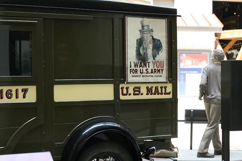 Old Postal Truck