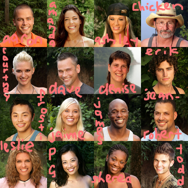 survivor china survivors