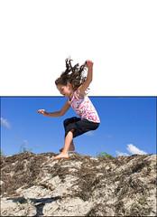 Ridgevale Leap! (tcsphotog) Tags: capecod chatham outofbounds nikond80 ridgevalebeach flickrchallengegroup flickrchallengewinner flickerchallengewinner photofaceoffwinner pfogold