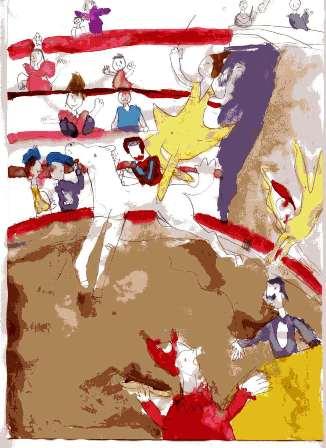 Seurat's Circus Sprite's Version
