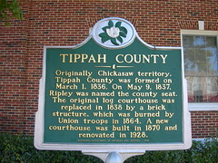 Tippah County Historic Marker