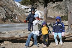 St Mary's Glacier (eZear) Tags: anika isaac karen phoebe 2007 dugan